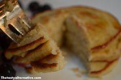 SCD Pancakes: Bananas, eggs, coconut flour & oil, honey
