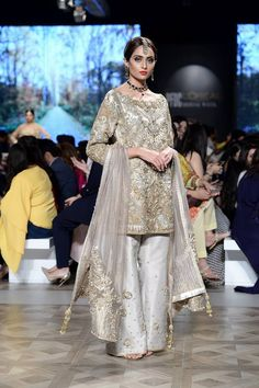 Nickie Nina Beautiful Pakistani Bridals ADEENA Collection at PLBW 2017. Lahore hosted the seventh PFDC L'Oreal Paris Bridal Week (PLBW) featuring some of the most celebrated designers of Pakistan as they showcase the latest bridal couture collections. #bridal #Pakistani #indian #Paris #bridalweek #Lahore #Love #Beautiful #wedding #style #fashion #designer
