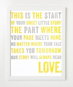 love story quote - Click image to find more Kids Pinterest pins