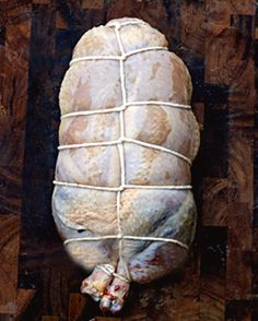 How to debone a whole Chicken with Minimal Cutting and Chicken Ballotine with Red Rice Stuffing Real Food Recipes, Chicken Recipes, Cooking Recipes, Yummy Food, Recipe Chicken, Chicken Ideas, Top Recipes, Rice Stuffing, Charcuterie