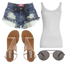 """""""10 ways to style sunglasses"""" by fashionandfriends on Polyvore featuring Vince and Seafolly"""