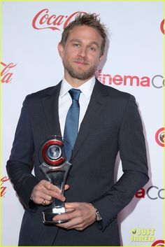 Charlie Hunnam & Sofia Boutella Are Honored at CinemaCon Achievement Awards!