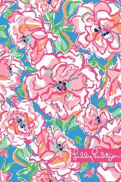 A Print Worth Celebrating- Lucky Charms. Lilly Pulitzer. Free wall paper downloads.