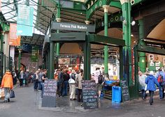 Borough Market - without a doubt the best food market in London