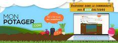 Monpotager.com : et si on jardinait online ? Saveurs du net - Eat, drink and geek : www.saveursdunet.com