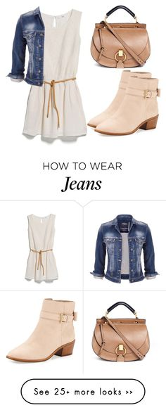 """""""Untitled #2376"""" by fiirework on Polyvore featuring MANGO, Kate Spade, maurices and Chloé"""