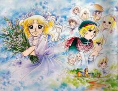 Candy Anthony Terence Annie Patty Archie Strear Albert Suor Maria e Miss Pony Manga Drawing, Manga Art, Manga Anime, Japanese Cartoon, Japanese Art, Seshomaru Y Rin, Candy Lady, Candy Pictures, Dulce Candy