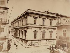 Álbum Fotografias de São Paulo 1900 - Largo e rua do Tesouro Gaensly, Guilherme (1890 década)