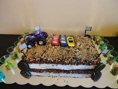 Sweet Monster Jam Cake. :P
