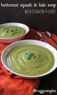 butternut squash cilantro soup acorn squash butternut squash kale soup ...