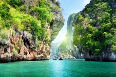 Krabi Thailand #beautiful #thailand #travel #vacation