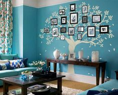 Vinyl Wall Decal family photo frame tree buds trees without birds leaf home house Art wall Decals Wall Sticker stickers baby room kid Family Tree Wall Decor, Family Tree Photo, Family Photo Frames, Family Wall, Photo Tree, Picture Tree, Family Room, Photo Frame Display, Display Family Photos