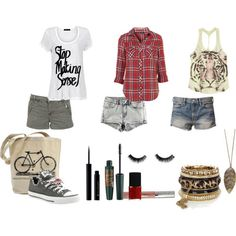 Polyvore Summer Outfits | Summer Outfit 3 - Polyvore | We Heart It