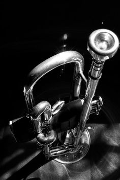 High Contrast B Trumpet by chuckwaters83, via Flickr