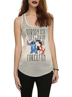 Disney Lilo & Stitch Nobody Gets Left Behind Girls Tank Top,