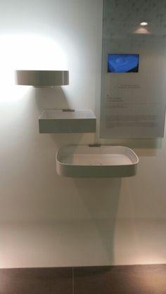 Vitra memoria countertop washbasins designed by christophe pillet