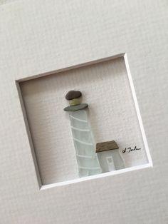 5 x 5 Mini Kies und Meer Glas-Bild von Sharon nowlan von PebbleArt