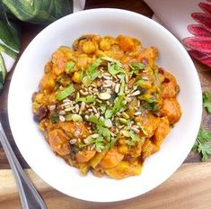Chickpea, Kidney Bean and Spicy Tomato Vegetable Stew