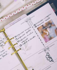 Meu Planner em Janeiro Check Up, Fotos Do Instagram, Planner, Bullet Journal, January, Organizers, Day Planners, Domingo