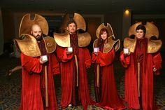 Gallifreyan High Council from Doctor Who - finally, an interesting cosplay from Doctor Who! No wonder there's hardly any Doctor Who cosplays people pin.