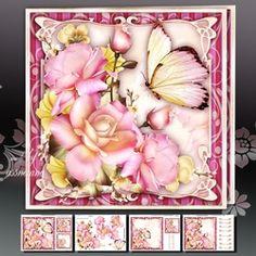 Soft Pink Bouquet Roses Mini Kit