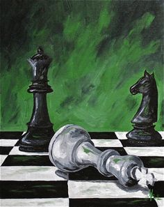 Chess Piece Tattoo, Cubist Art, Pencil Art Drawings, Panel Art, Sports Art, Art Studies, Horse Art, Light Art, Portraits