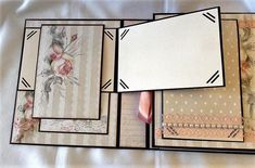 Album-Photos Scrap For You : Bouquets de roses Album Photo Scrapbooking, Mini Albums Scrapbook, Scrapbook Journal, Baby Scrapbook, Scrapbook Cards, Scrapbook Page Layouts, Diy Mini Album, Mini Album Tutorial, Chipboard Crafts
