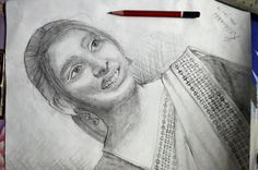First portrait ...sis:)