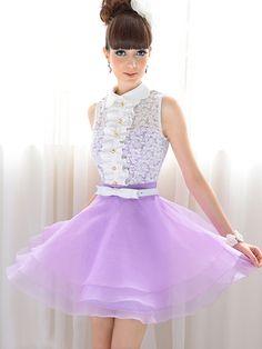 3244ae0965e4 Zanzea® Stylish Lapel Splicing Lace Ruffled Dress Ball Gown Dresses