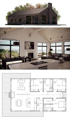 Design Inspiration Modern Cabin Love cabinlove architecture