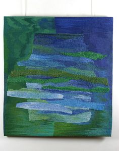 Mireille Guerin | 'Passage' (Date Unknown). Woven tapestry.