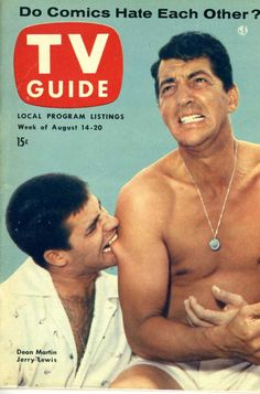 Dean Martin and Jerry Lewis 1954 u