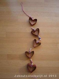 Valentijn hartjesketting.