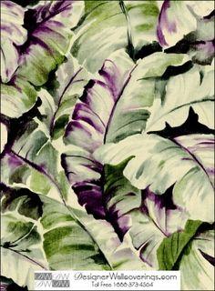 WAT-39937 | Tito's Tropical Banana Leaf Wall Paper