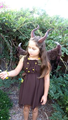 Young Maleficent Inspired costume Wings, Horns  3D Printed (Ultra Light Weight Plastic) and Dress girls size 6-12 by MudpiesandMajesty on Etsy https://www.etsy.com/listing/218426530/young-maleficent-inspired-costume-wings