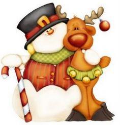imagenes navideñas tiernas - Buscar con Google