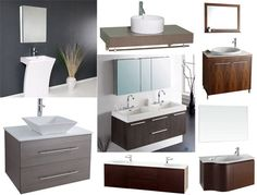 Modern Bathroom has just about everything you could ever imagine for your perfect modern (or antique, or transitional) bathroom, from faucets to accessories to modern vanities.