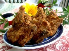 Get Paula Deen's Lady and Sons Fried Pork Chops Recipe from Food Network
