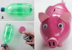 piggy bank recycle