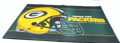 """Green Bay Packers 24 X 36 """" welcome mat"""
