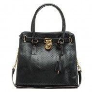 Michael Kors Saffiano Leather Hamilton Perforated Large NS Tote Bag Black $123.00  http://www.michaelkorsorder.com/