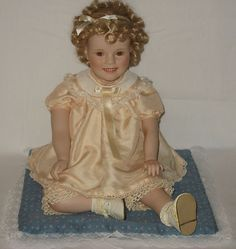Shirley Temple Elke Hutchens Toddler Series Doll AMBER EYES Little Miss Shirley