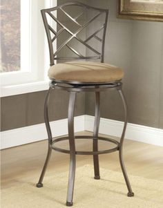 Beautiful Ghost Stool with Back