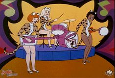 Hanna Barbera World: ENG - Josie and the Pussycats Cartoon Cartoon, Vintage Cartoon, Cartoon Characters, 60s Cartoons, Old School Cartoons, Classic Cartoons, Josie And The Pussycats, Jaguar Xjr, Female Of The Species
