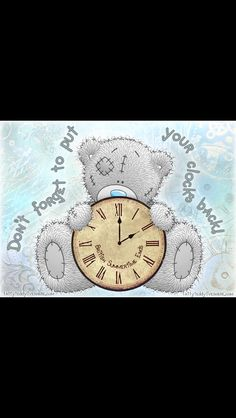 Teddy Pictures, Cute Pictures, Ted Quotes, Blue Nose Friends, Daylight Savings Time, Love Bear, House Mouse, Tatty Teddy, Cute Bears