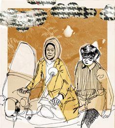 harold and maude by chilliy on DeviantArt Brideshead Revisited, Cat Stevens, Pop Culture Art, Film Books, Old Soul, Moving Pictures, Illustration Art, Illustrations, Poster Prints
