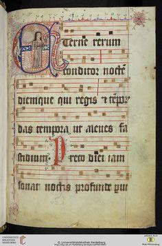 Universitätsbibliothek Heidelberg  Cod. Sal. IX,66 Liber hymnorum — Rothenmünster, 1366