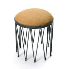 "Eclipse Home Collection Stanton Stool 18.5"" H x 15.5"" Dia."