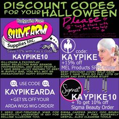 "DISCOUNT CODES Please Tag and share with anyone this may help! I have these perma posted on my  http://ift.tt/1UokVJw  Profile Streaming today please come say Hi later!  The whole facepaint/makeup deal is a grossly expensive hobby let alone if your at a ""pro-sumer"" level like so many of you reading this right now hopefully this post can help you just a bit on your quest.   Note please too that I'm not on commission and I do not get residuals or kickbacks for any of this this is genuine 100%…"