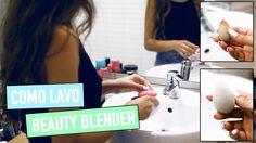 COMO LAVO A BEAUTY BLENDER E PINCÉIS | A Maria Vaidosa